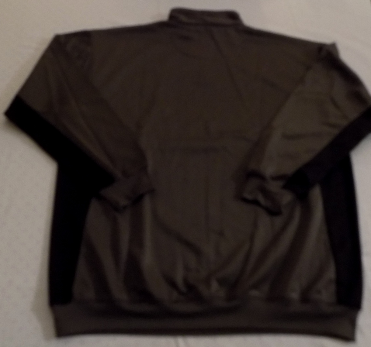 Details about Cincinnati Bengals Quarter Zip Long Sleeve Pullover 2XL  Charcoal Embroidered NFL