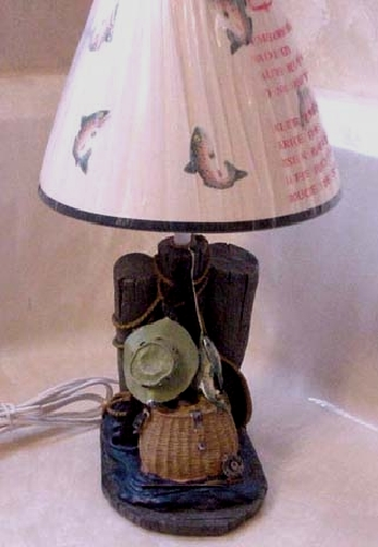 Beautiful Even The Lamp Shade Has Decorative Fish   What A Cool Item. Buyers In The  USA Enjoy Free Shipping   International Buyers Please Inquire About  International ...